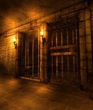 Dungeon Fantasy Hallway With C...