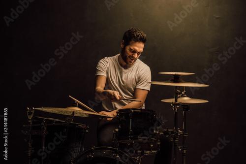professional drummer details - 244487865