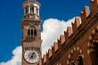 Medieval Lamberti Tower in Verona - Italy