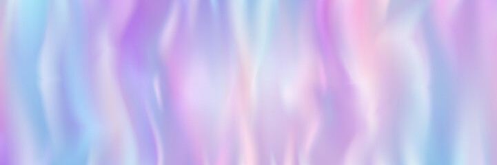 Panel Szklany Abstrakcja horizontal abstract pastel holographic texture design for pattern and background,vector illustration