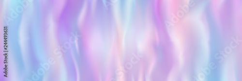 Photo horizontal abstract pastel holographic texture design for pattern and background