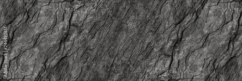 Spoed Fotobehang Stenen horizontal black stone texture for pattern and background