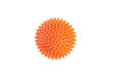 Orange Ball For Dog Teeth Isol...