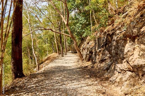 Cuadros en Lienzo Hellfire pass, Kanchanaburi, Thailand