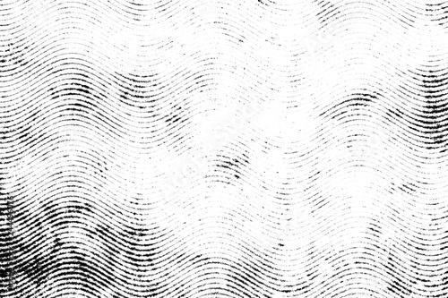 Fotografie, Obraz  Halftone monohrome grunge lines texture