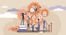 Sociology Vector Illustration....