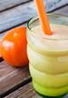 Tangerine Milk Shake