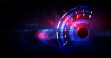 Racing Speed Background, Vecto...