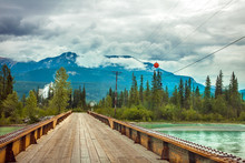 Bridge Over The Kicking Horse ...