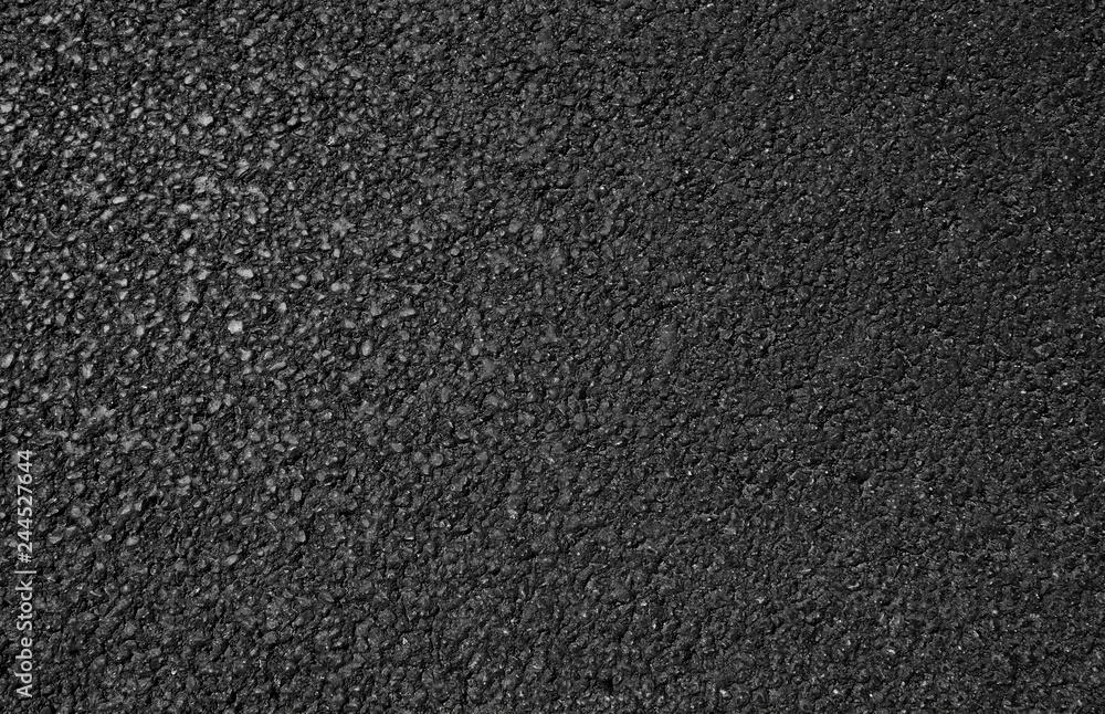 Fototapeta Black asphalt road texture background