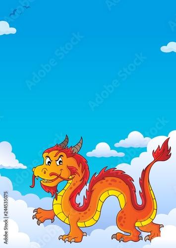 Chinese dragon theme image 7