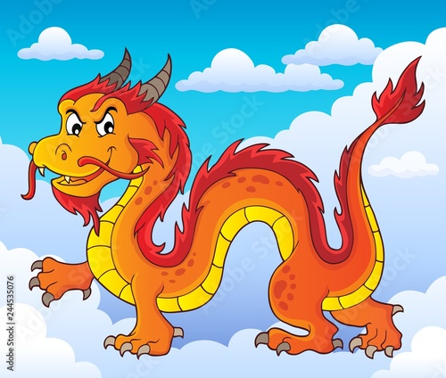 Chinese dragon theme image 6