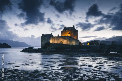 Foto op Plexiglas Kasteel Eilean Donan Castle, Loch Duich, Highlands, Scotland