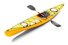 Yellow Sea Kayak And Oars 3D