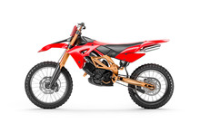 Red Racing Motorcycle For Moto...
