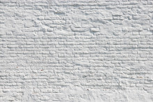 Urban White Brick Wall Background