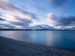 Long exposure of Lake Tekapo, New Zealand in the early morning hours