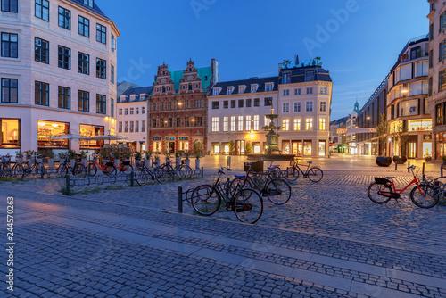Photo  Copenhagen. Square Amagertorv.