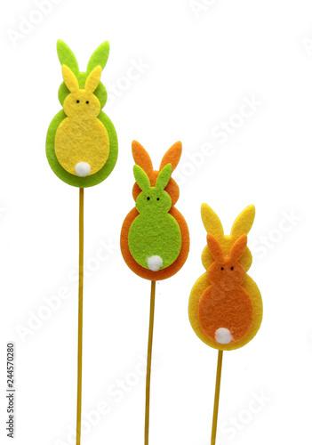 Foto  trio de lapins