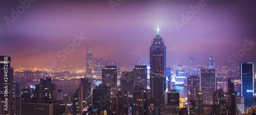 Deurstickers Asia land Panorama of central Hong Kong