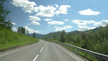 The Highway In The Mountain Ar...