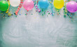 canvas print picture - Birthday party decoration