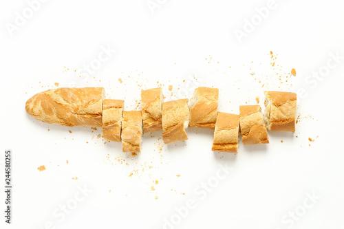 Fotografie, Obraz  sliced baguette