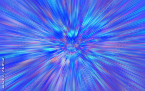 Photo Stands Psychedelic Abstract Neon Purple Blue Radial Blur Background