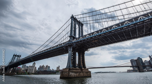 Fototapeta Manhattan Bridge NYC