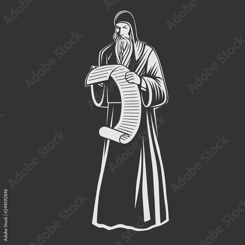 Fotografía Orthodox monk. Orthodox priest.