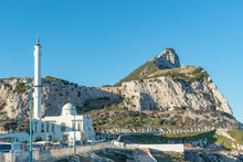 South Part Of Gibraltar With Mosque