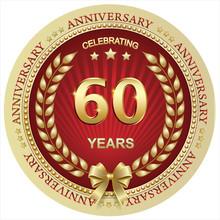 Anniversary 60 Years , Birthda...