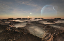 Distant Alien Planet