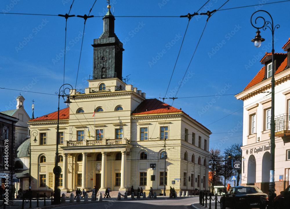 Fototapety, obrazy: Ratusz w Lublinie