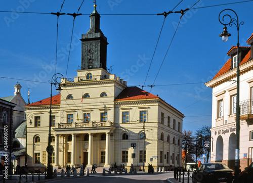 Obraz Ratusz w Lublinie - fototapety do salonu