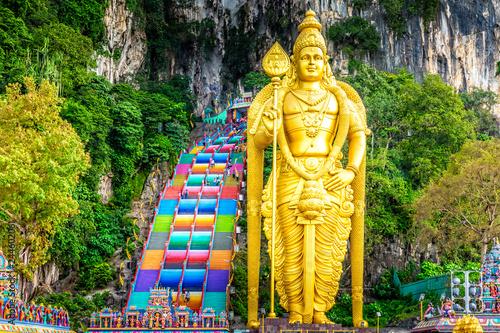 Fotografiet Batu Caves, Kuala Lumpur