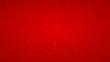 Abstract Background Of Small Squares In Shades Of Red Colors