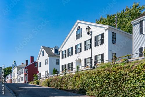 Fotografie, Obraz  Historic homes in Plymouth, Massachusetts