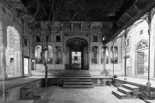 Fototapeta Haveli Interior Rahjastan, India obraz na płótnie