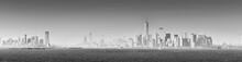 Panoramic View Of Lower Manhat...