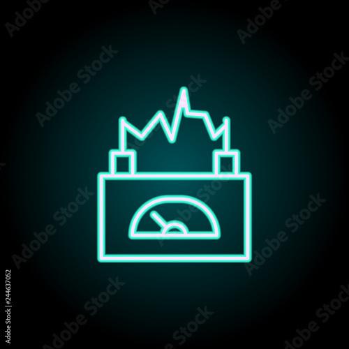 фотография  current meter icon