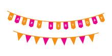 Party Decoration Birthday Vect...