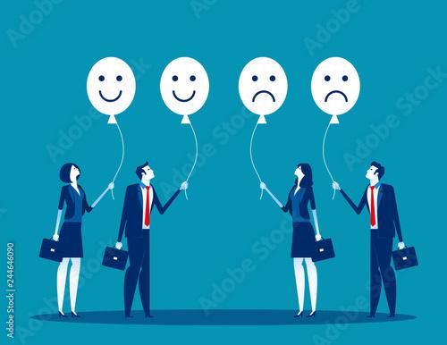 Fotografia  Feelings of the employees