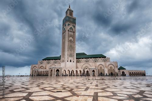 Photo  Hassan II Mosque In Casablanca