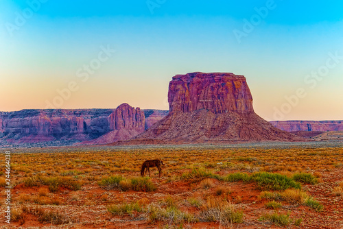 Spoed Foto op Canvas Verenigde Staten View of Monument Valley in Utah, USA.