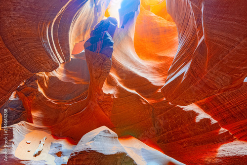 Keuken foto achterwand Verenigde Staten Antelope Canyon is a slot canyon in the American Southwest.