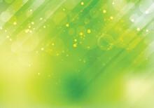 Abstract Green Nature Bokeh Bl...