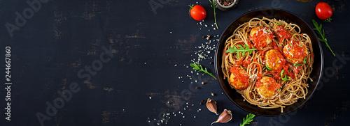 Italian pasta Fototapet