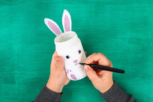 DIY Easter Vase Bunny From Gla...