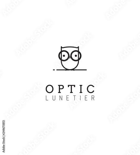 Logo opticien Wall mural